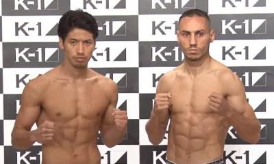 Karim BENNOUI vs Koya URABE 2 - Full Fight Video - K-1 World GP 2016