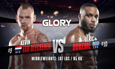 Ulric Bokeme vs Kevin van Heeckeren - Replay vidéo du Combat - GLORY 74