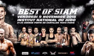 Best Of Siam 14 - MEYER et NGOTO en tête d'affiche à Paris