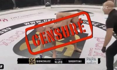 MMA - James GONZALEZ déboîte le bras de son adversaire et ça fait froid dans le dos ! VIDEO