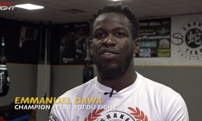 100% FIGHT 40 - Interview Video d'Emmanuel Dawa