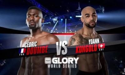 Cedric DOUMBE vs Yoann KONGOLO 3 - K-1 FIGHT VIDEO - GLORY 39