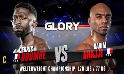 Cedric Doumbe vs Karim Ghajji - Replay du Combat - GLORY 76