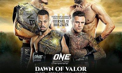 ONE - la revanche Nieky HOLZKEN vs Regian EERSEL prévue le 25 octobre