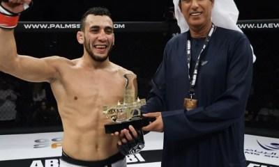 Elias BOUDEGZDAME signe un début triomphant à l'UAE Warriors