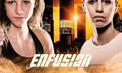 Amel DEHBY vs Sarel DE JONG à l'Enfusion Abu Dhabi