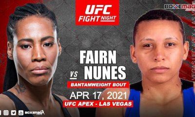 Zarah Fairn revient à l'UFC le 17 avril