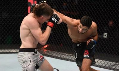 UFC - Fares Ziam remporte une belle première victoire