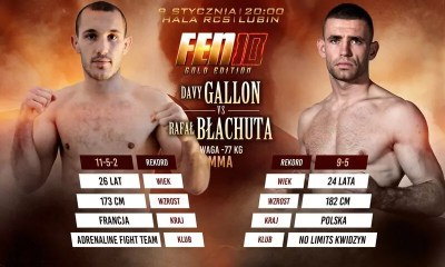 Davy Gallon vs Rafal Blachuta - Full Fight Video - FEN 10