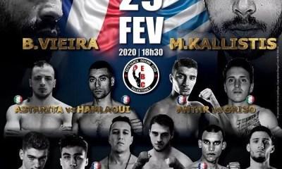 Génération Fighter - La célèbre Team NAS-R.K en Force à Valentigney pour le gala de l'Espérance Boxing Club