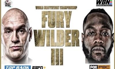 Fury vs Wilder 3 - L'Allegiant Stadium est réservé pour le 19 décembre