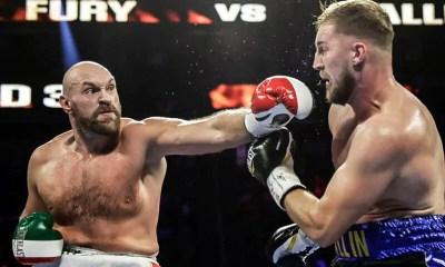 Tyson FURY vs Otto WALLIN - Full Fight Video - Boxe