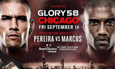 GLORY 58 Chicago - PEREIRA vs MARCUS 2 - La carte des combats