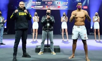 Glory 76 - Badr Hari vs Benny - Vidéo de la pesée