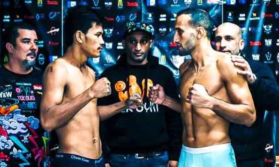 TEK FIGHT 3 - Galaoui vs Somyot - Résultats en Direct