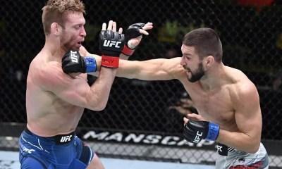 Vidéo HL - Mateusz Gamrot s'impose par TKO à l'UFC