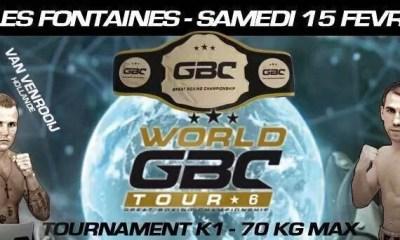 Abdallah Mabel vs Bruce Codron 2 - Full Fight Video - GBC 8 2015