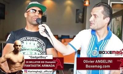 Karim GHAJJI ouvert pour affronter Yoann KONGOLO en Boxe Anglaise - VIDEO ITW