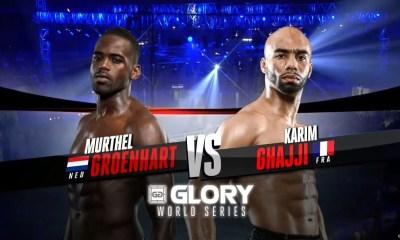 Karim Ghajji vs Murthel Groenhart - Full fight Video - GLORY 25