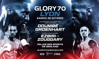 GLORY 70 - Lyon - La Billetterie est en ligne !