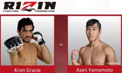 Kron Gracie vs Asen Yamamoto - Full Fight Video - Rizin FF