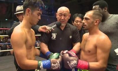 Franck GROSS vs Eisaku OGASAWARA - Combat de Kickboxing - FIght Video