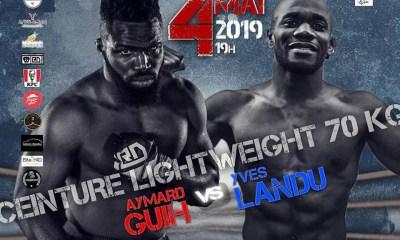 OCTOFIGHT 3 - Aymard GUIH vs Yves LANDU pour la ceinture des -70kg
