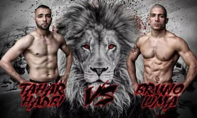 Tahar Hadbi vs Bruno Lima - Full Fight Video - LIONS FC 6