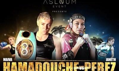 Maiva HAMADOUCHE vs Janeth PEREZ pour une 5è défense du titre mondial IBF