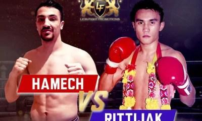 Hakim HAMECH vs RITTIJAK - Combat de Muay Thai - FIGHT VIDEO