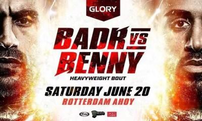 Badr HARI vs Benjamin ADEGBUYI au GLORY Rotterdam le 20 juin