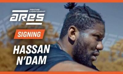 Le boxeur Hassan N'Dam se lance dans le MMA et signe avec ARES FC