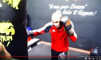 ARENA FIGHT - Mohamed HENDOUF en préparation pour Tayfun OZCAN - VIDEO