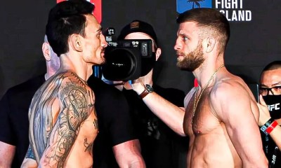 UFC Vegas 7 - Vidéo et Résultats de la pesée Holloway vs Kattar, Imavov vs Hawes