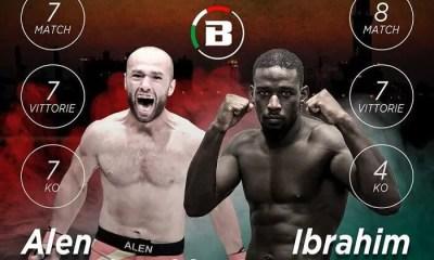 Ibrahim MANE combattra avec le Bellator en décembre
