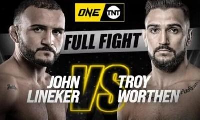 John Lineker vs. Troy Worthen - Replay vidéo du combat - ONE