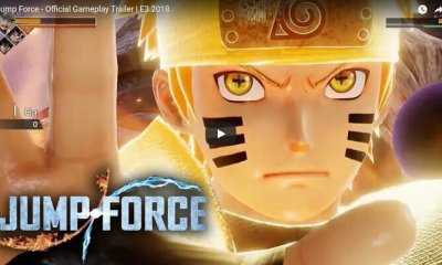 JEUX VIDEO - Jump Force - GOKU, NARUTO et LUFFY dans un même jeu !