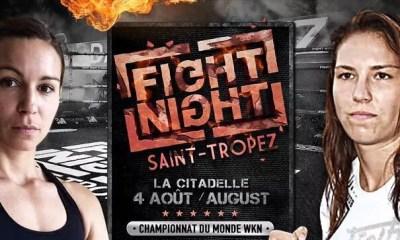 FIGHT NIGHT ST TROPEZ: MADJENE vs KALACHNIKOFF pour un championnat du Monde
