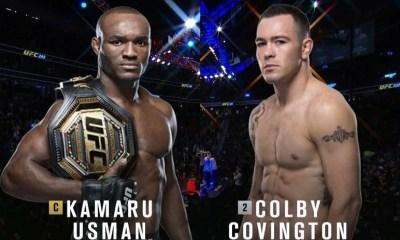 Kamaru Usman vs Colby Covington - Replay Vidéo du combat - UFC 245