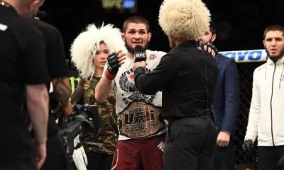 UFC - Khabib NURMAGOMEDOV devient le champion des LW - Vidéo