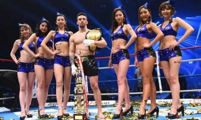 K-1 FESTA 3 - Minoru 'Philip' Kimura remporte le tournoi et devient champion des SWW