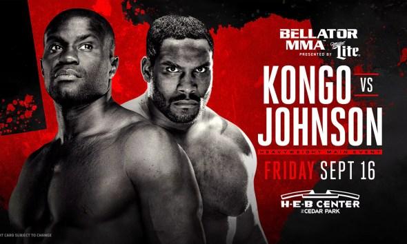 Cheick KONGO vs Tony JOHNSON - Full Fight Video - Bellator 161