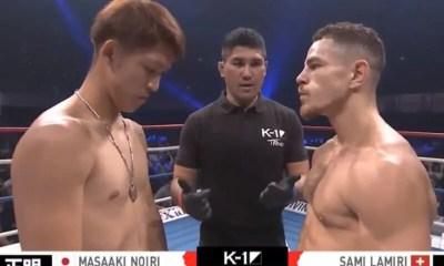 Sami LAMIRI vs NOIRI Masaaki - Full Fight Video - K-1 World GP