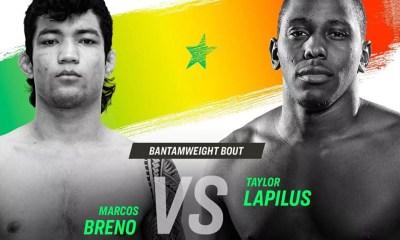 Taylor LAPILUS combattra lors de la première édition de l'ARES Fighting Championship