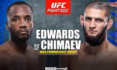 Le combat Leon Edwards vs Khamzat Chimaev annulé pour la troisième fois