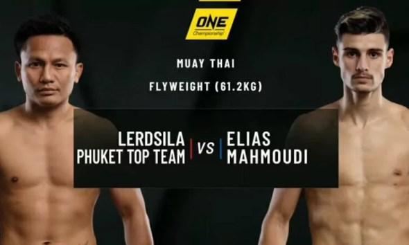 Elias MAHMOUDI vs LERDSILA - Full Fight Video - ONE Championship