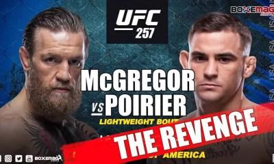 Conor McGregor vs Dustin Poirier confirmé pour l'UFC 257