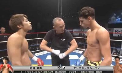 Elias MAHMOUDI vs Ryuma TOBE - Full Fight Vidéo - K-1 World GP
