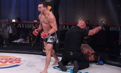VIDEO - Michael Chandler stoppe Benson Henderson par KO lors de la revanche