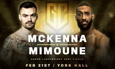 Golden Contract - Mohamed MIMOUNE affrontera Tyrone McKENNA pour une place en finale et la ceinture WBC Silver